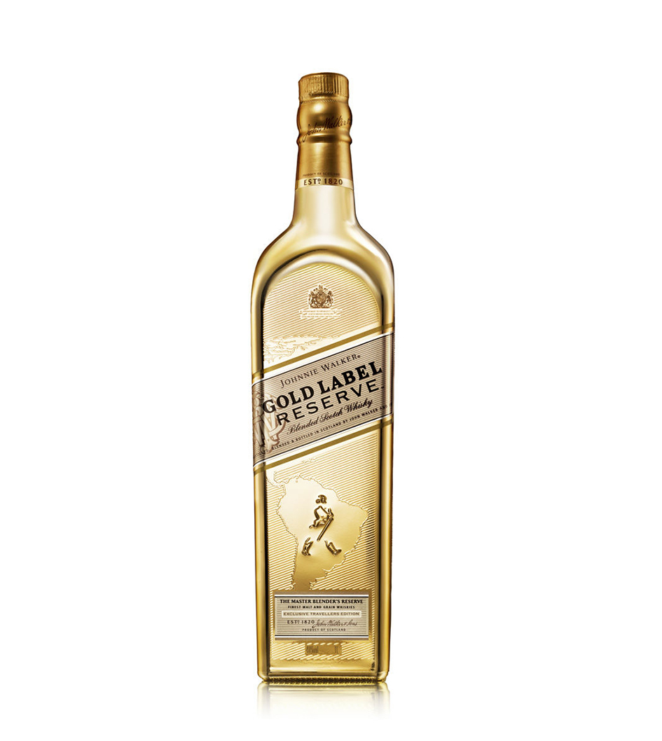 Johnnie Walker Gold Label Reserve Limited Edition Gold Bottle
