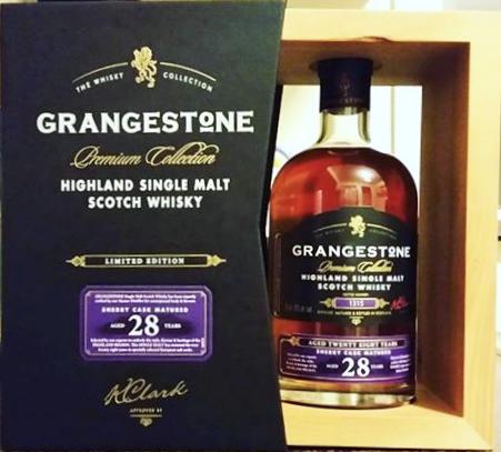 grangestone premium collection 28 year old sherry cask matured