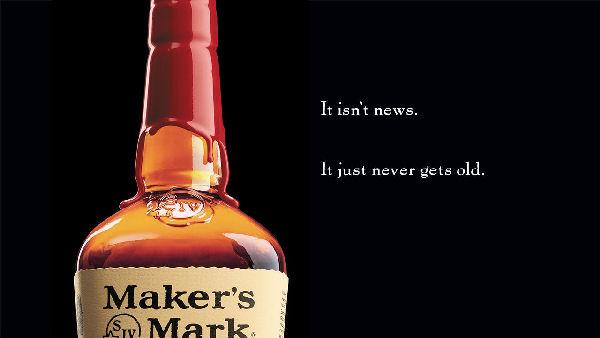 maker's mark bourbon advert
