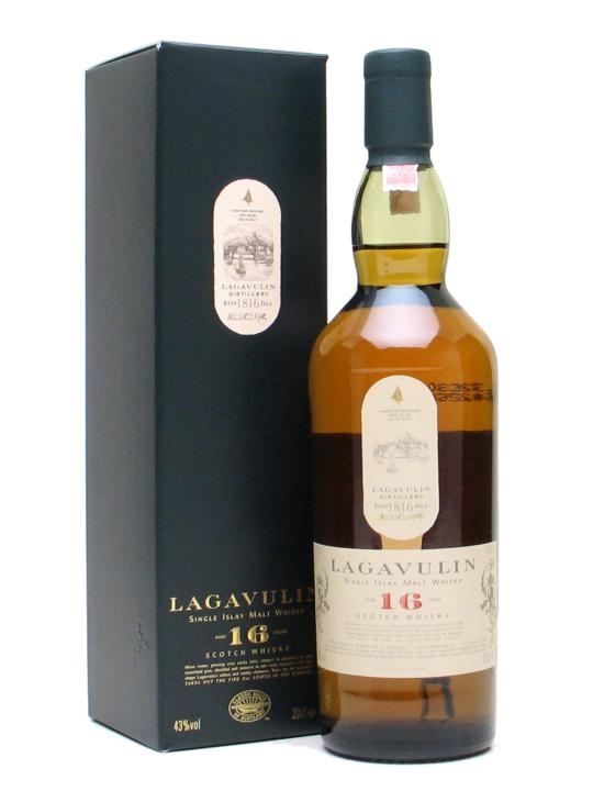 Lagavulin 16 Year Old Whisky