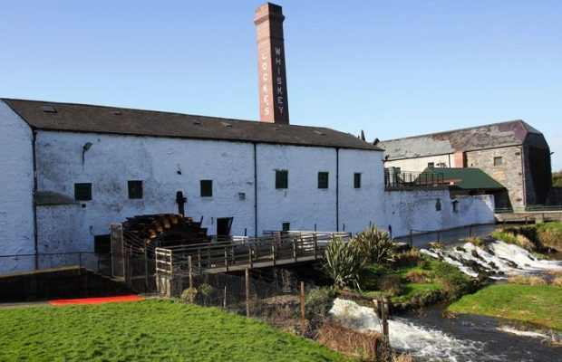 Kilbeggan Distillery outside
