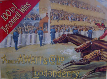 National Produce Stakes Horserace poster