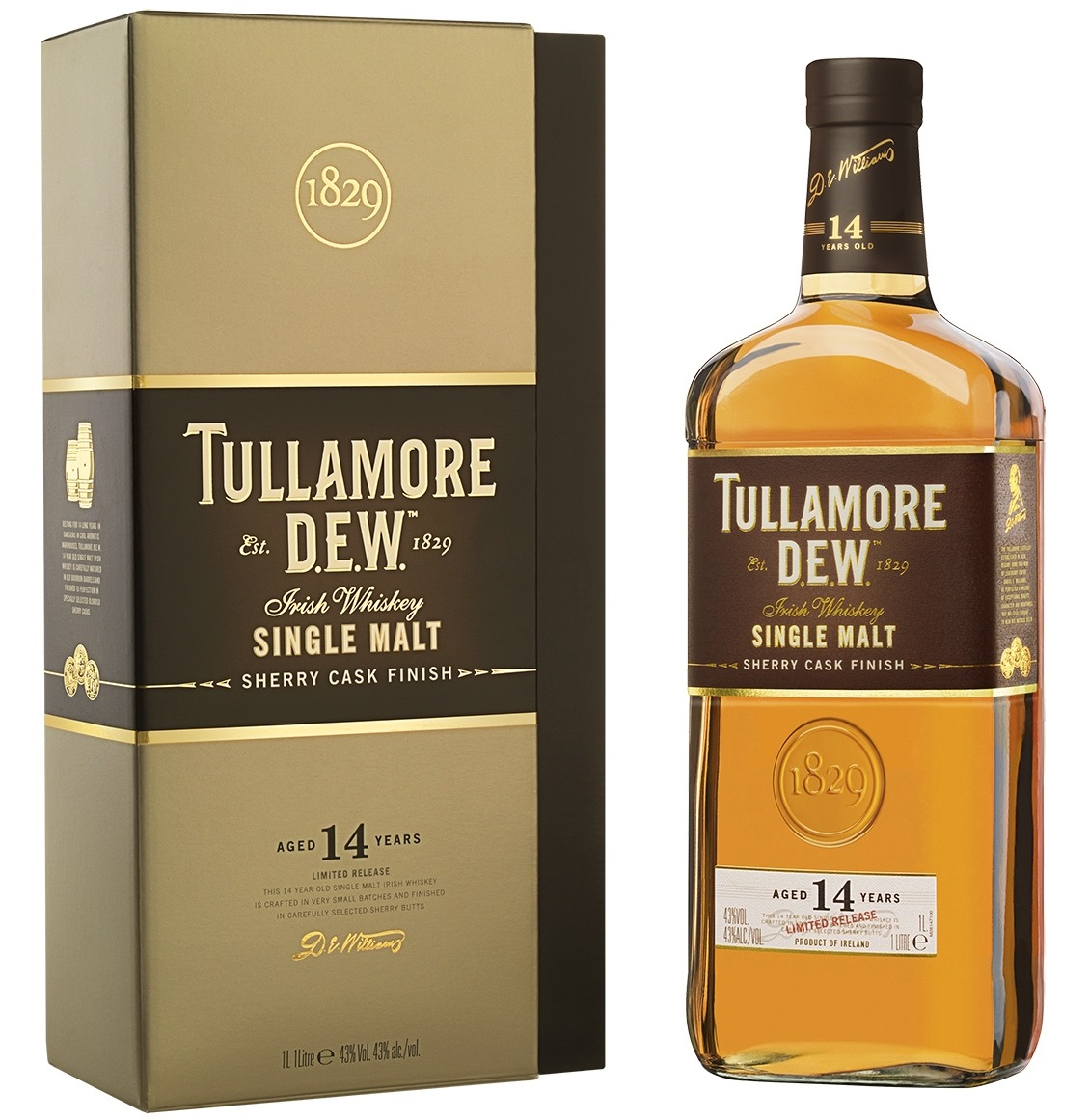 Tullamore DEW 14 Year Old Whisky