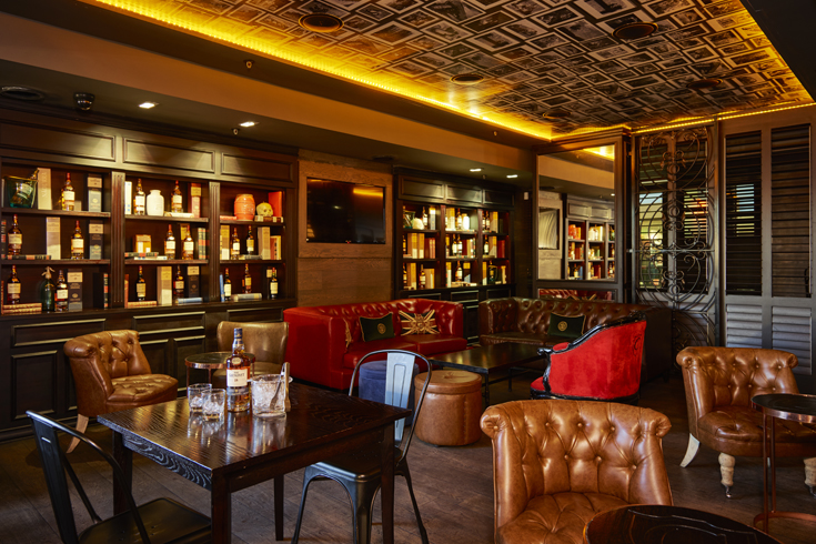 Churchills Bar Interior