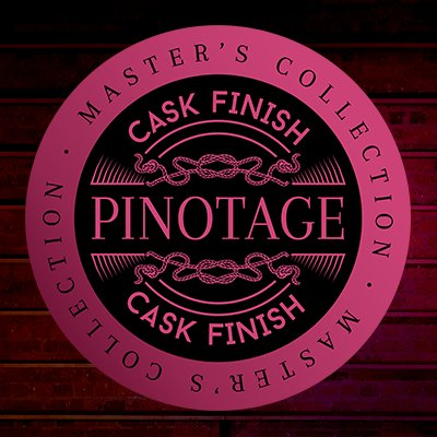 Three Ships Pinotage Cask Finish whisky label