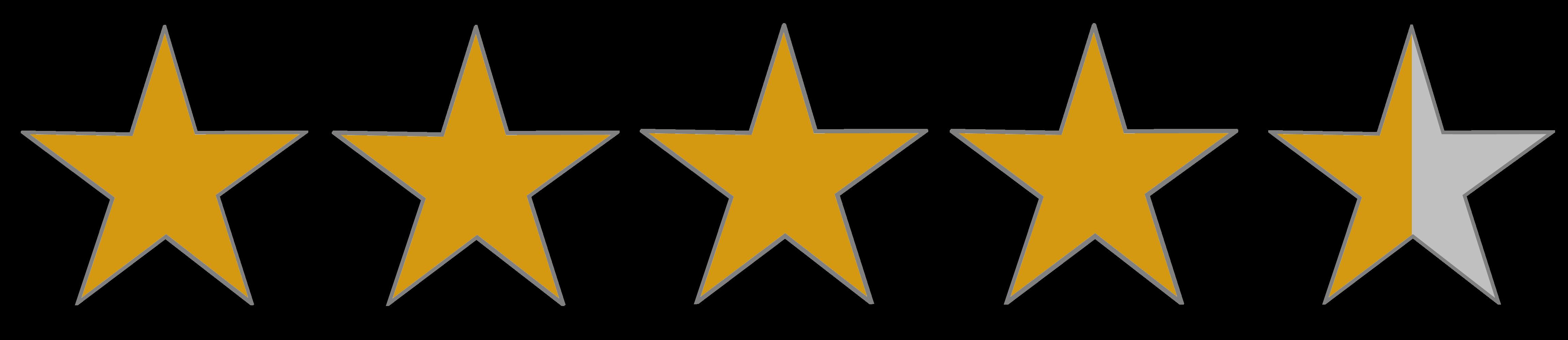 Image result for 4.1 rating transparent